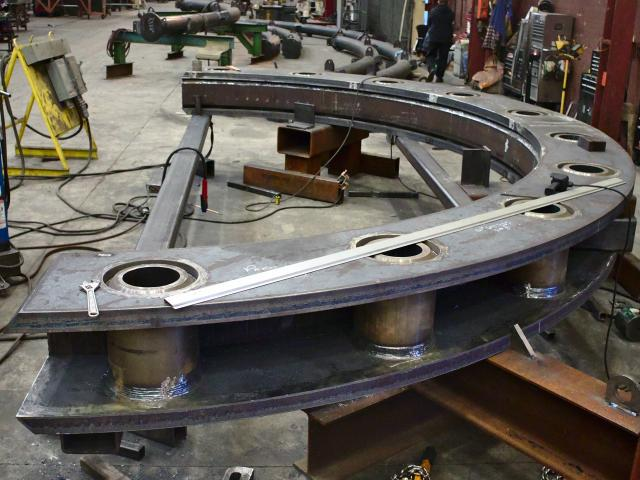 Kubes Steel Braced Curved Plate - Rings