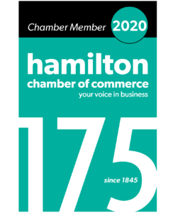 Hamilton Chamber of Commerce 2020 175th Anniversary Logo