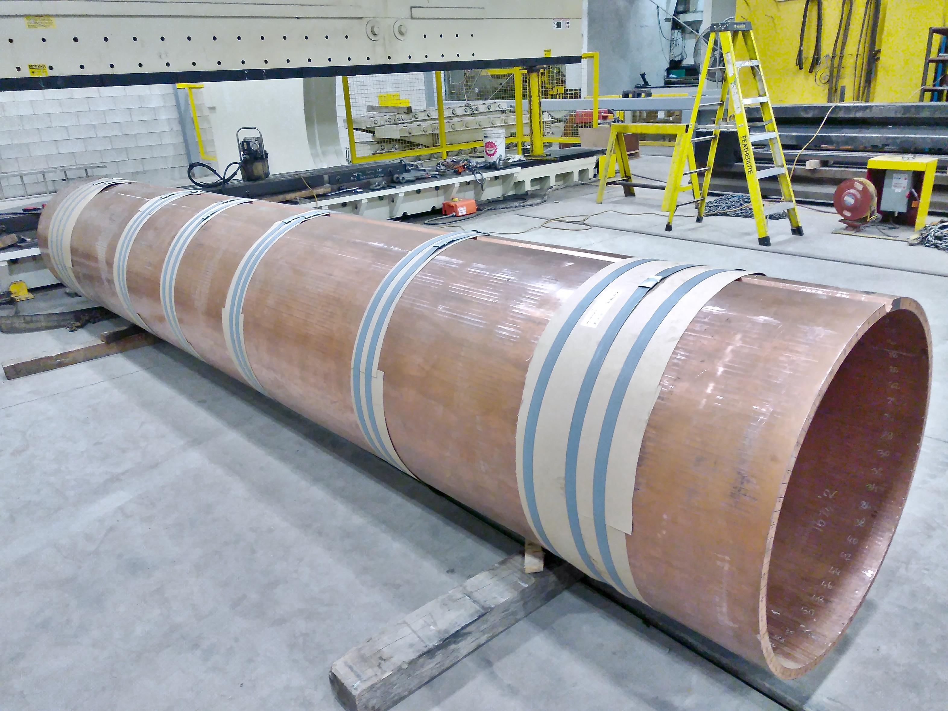 Kubes Steel Cylindres en Cuivre